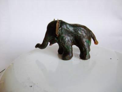 Wachselefant Seitenansicht