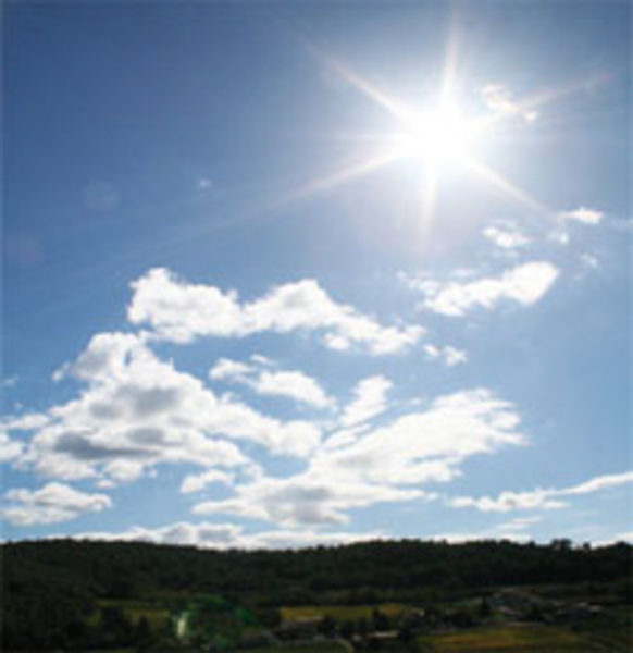 Foto Sonnenstrahlen